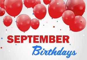 September Senior Birthdays